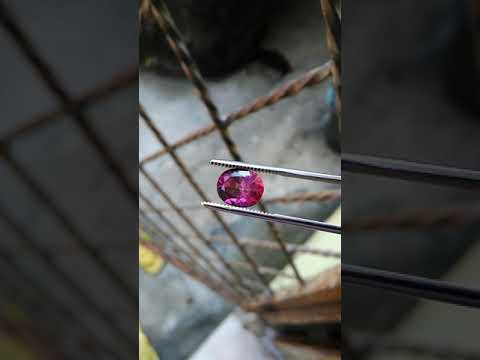 NATURAL PINK TOPAZ include Id Card GRI Lab Crystal Clean n Top Color Loose Stone