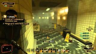 Deus Ex Human Revolution Alice Garden Pod Escape
