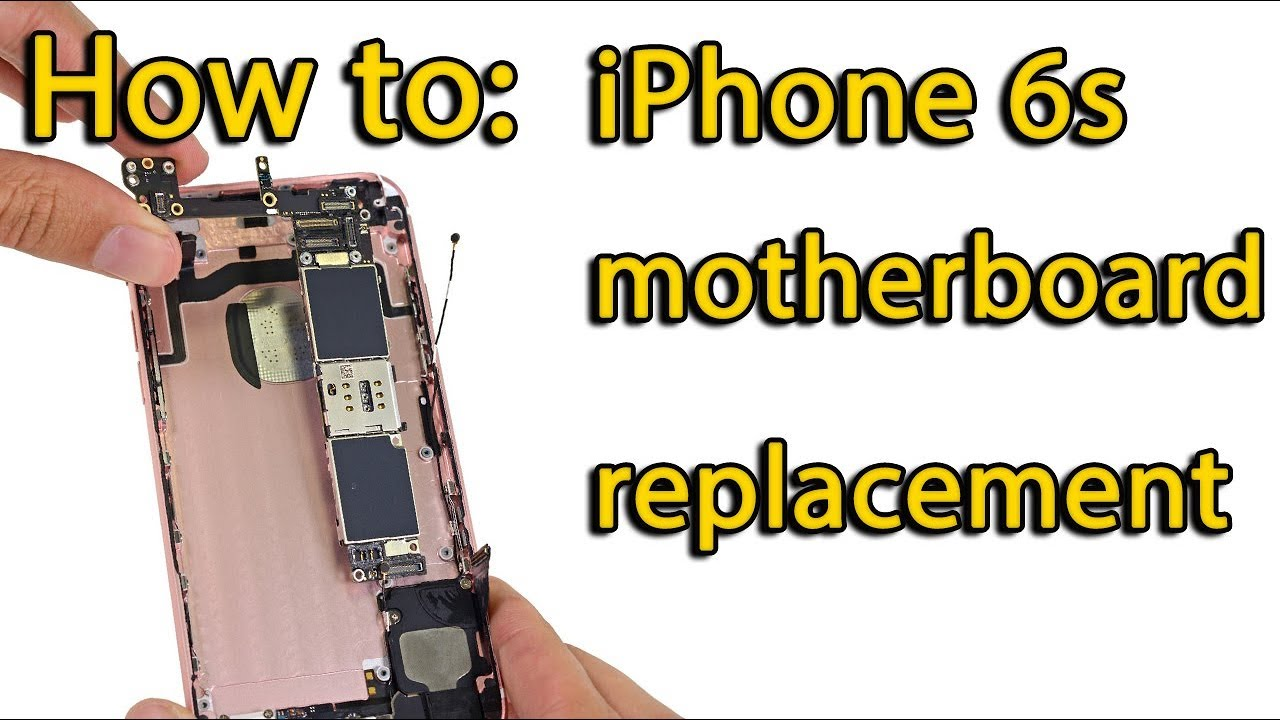 sale retailer 0ab4c 80bab iPhone 6s motherboard replacement