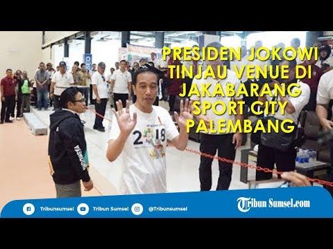 PRESIDEN JOKOWI PUJI JAKABARING SPORT CITY PALEMBANG, SIAP SELENGGARAKAN ASIAN GAMES 2018 Mp3