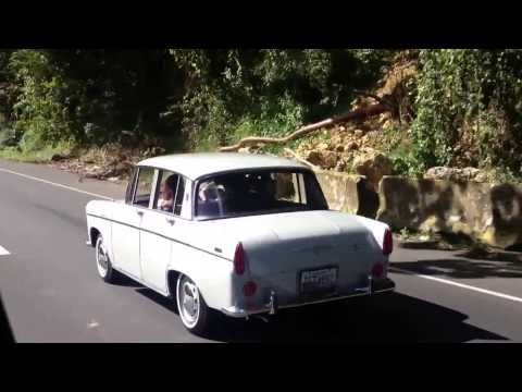 Dennis Gage Driving Driving A 1961 Toyota Tiara