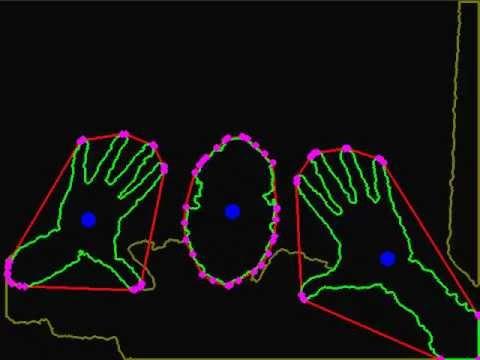 Kinect hand gestures, finger tracking