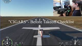 MS Flight Sim 2020 Basic Flight Lesson w/ Pete (8)