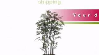 7 Foot Bamboo Wall Divider - Artificialplantsandtrees.com