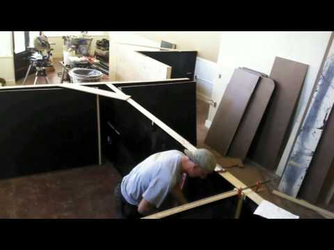 DIY Office Desks, The Gregori Group Real Estate