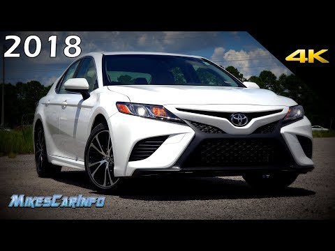 2018 Toyota Camry SE - Ultimate In-Depth Look in 4K