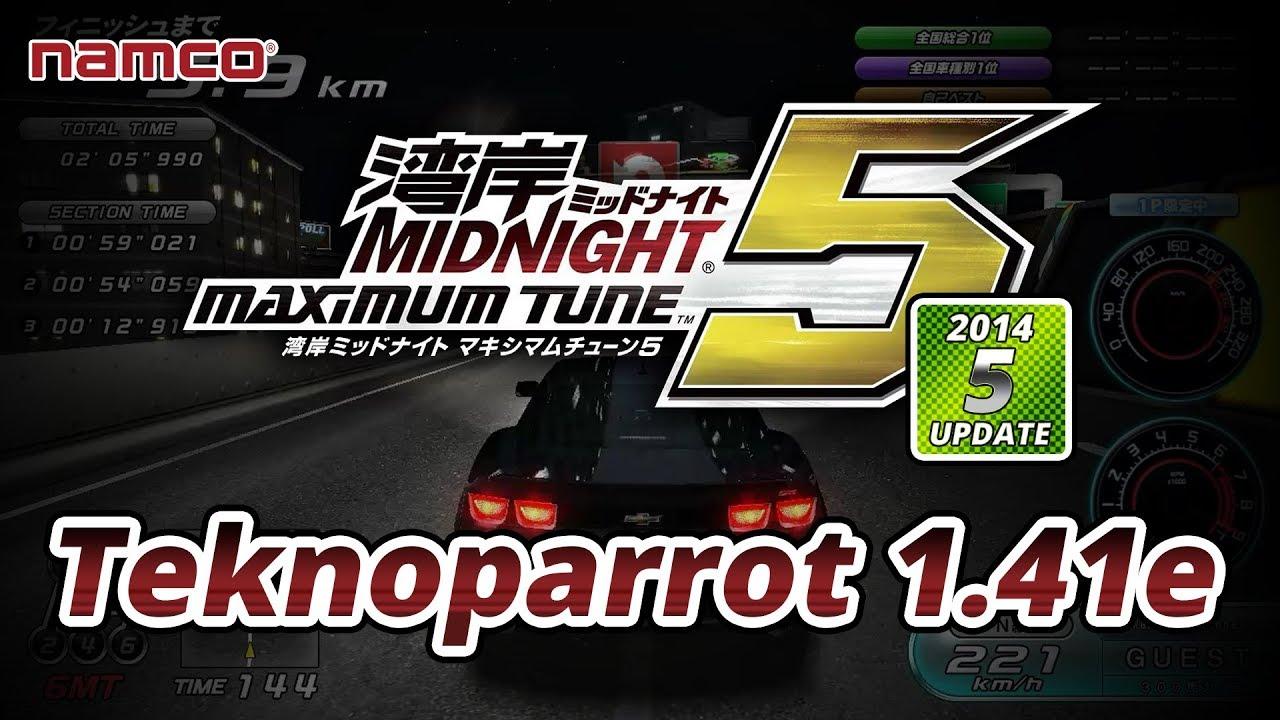 WMMT5 - (Ver 2014 Update 5) - Teknoparrot 1 41e - 60FPS Native HD