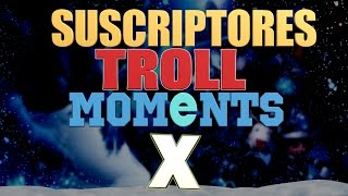ESPECIAL XMAS (NAVIDAD) | SUSCRIPTORES TROLL MOMENTS (League of Legends)