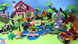 Playmobil WildLife Animals Building Sets - Fun Toys For Kids Video