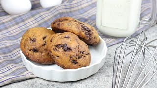 VERY EASY CHEWY CHOCOLATE CHIP COOKIES