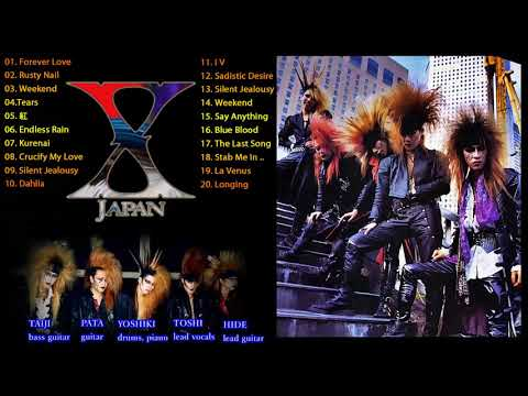 X Japan メドレー|| X Japan 人気曲 - ヒットメドレー || X Japan Ballad Collection