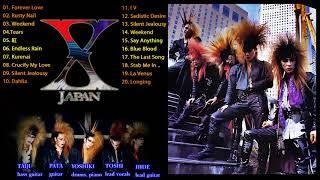 X Japan メドレー|| X Japan 人気曲 - ヒットメドレー || X Japan Balla...
