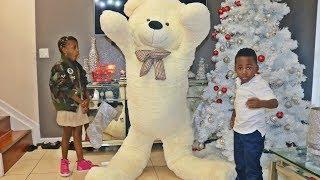 GIANT MOVING TEDDY BEAR PRANK!!! (INSANE)
