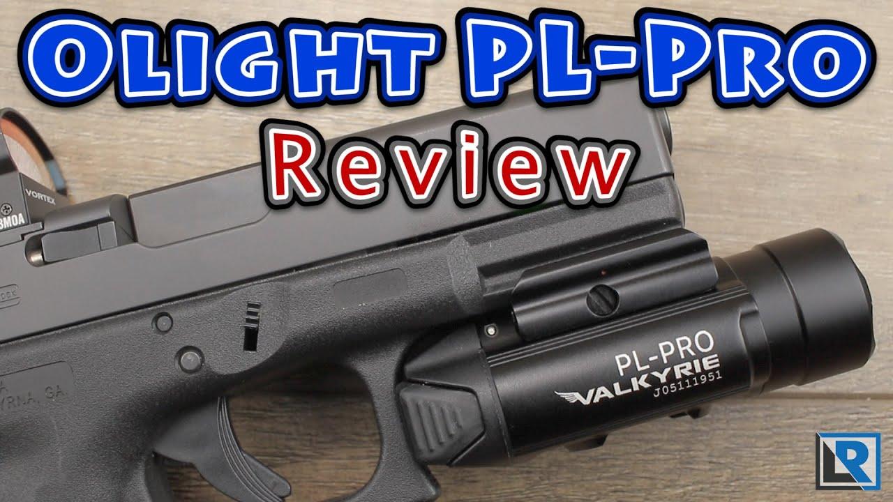 OLIGHT PL-PRO 1500 lumen rechargeable pistol light flashlight rail weaponlight