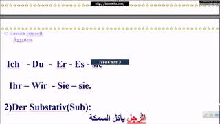 """""""الدرس الثالث - الجملة """"  Lektion3""""der Satz"""""""