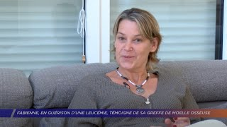 Yvelines | Fabienne, en guérison d'une leucémie, témoigne du don de moelle osseuse
