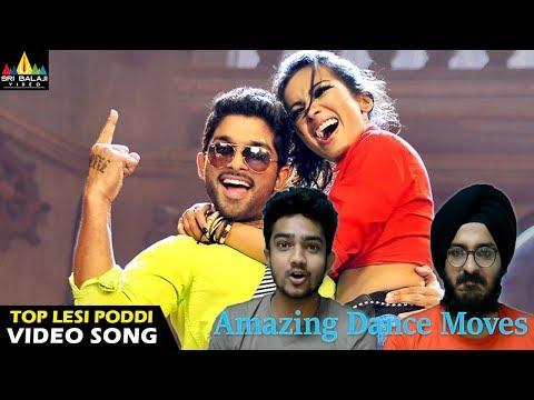 Iddarammayilatho Songs | Top Lechipoddi Video Song Reaction | Latest Telugu Video Songs | Allu Arjun
