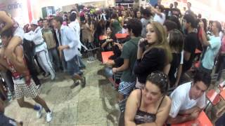 Making of - Do the harlem shake - Patos de Minas - Pátio Central Shopping