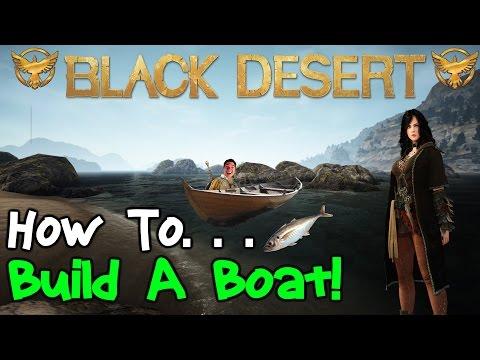 Black Desert Online: How To Build a Boat