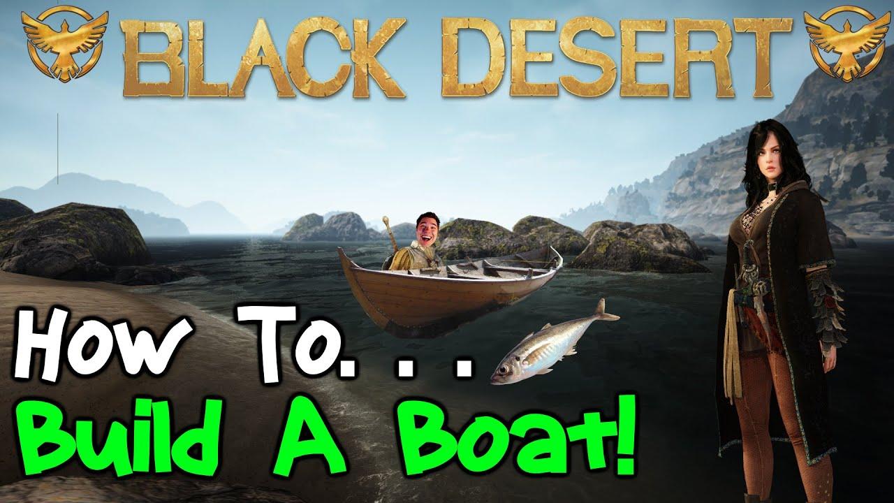 Black Desert Online Boat Building Guide