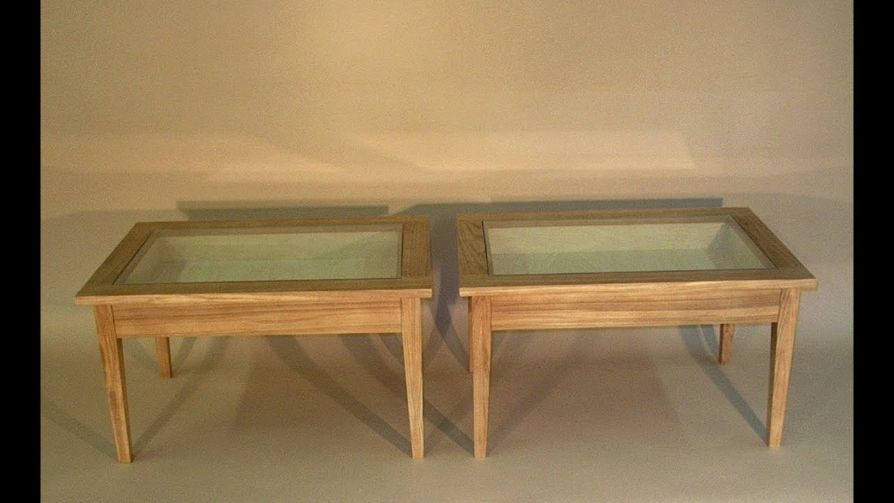 display coffee table - YouTube