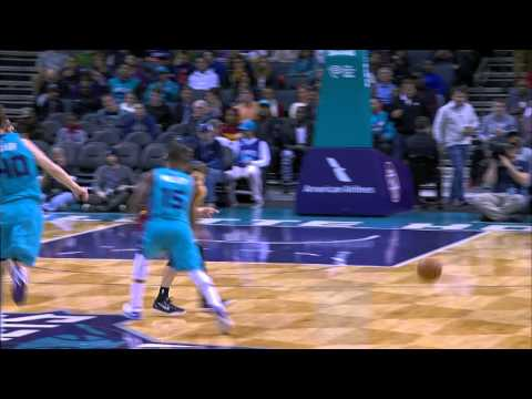 Gerald Henderson Rises Over Kyrie Irving for the Smash