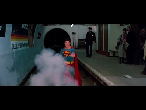 Superman IV (1987) Location - Aldwych Tube Station disused, The Strand, London