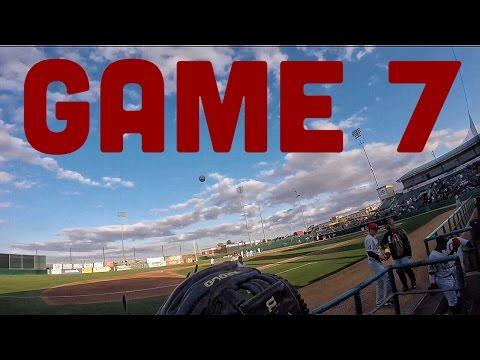 Catching 4 Baseballs at a Minor League Game