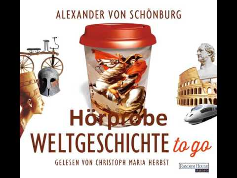 Weltgeschichte to go YouTube Hörbuch Trailer auf Deutsch