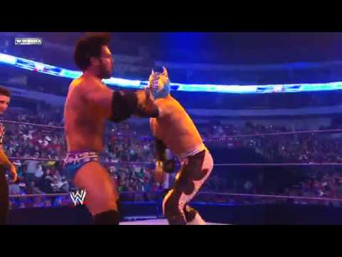Friday Night  SmackDown Justin Gabriel vs....
