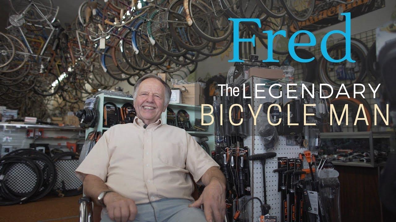 Olympic cycle port orchard - Legendary bicycle man fred olympic bike port orchard washington strut films