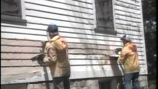 Chemical Paint Stripping HowTo- Paste product application