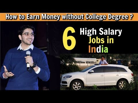 6 High Salary Jobs : Earn in Lakhs without College Degree🔥