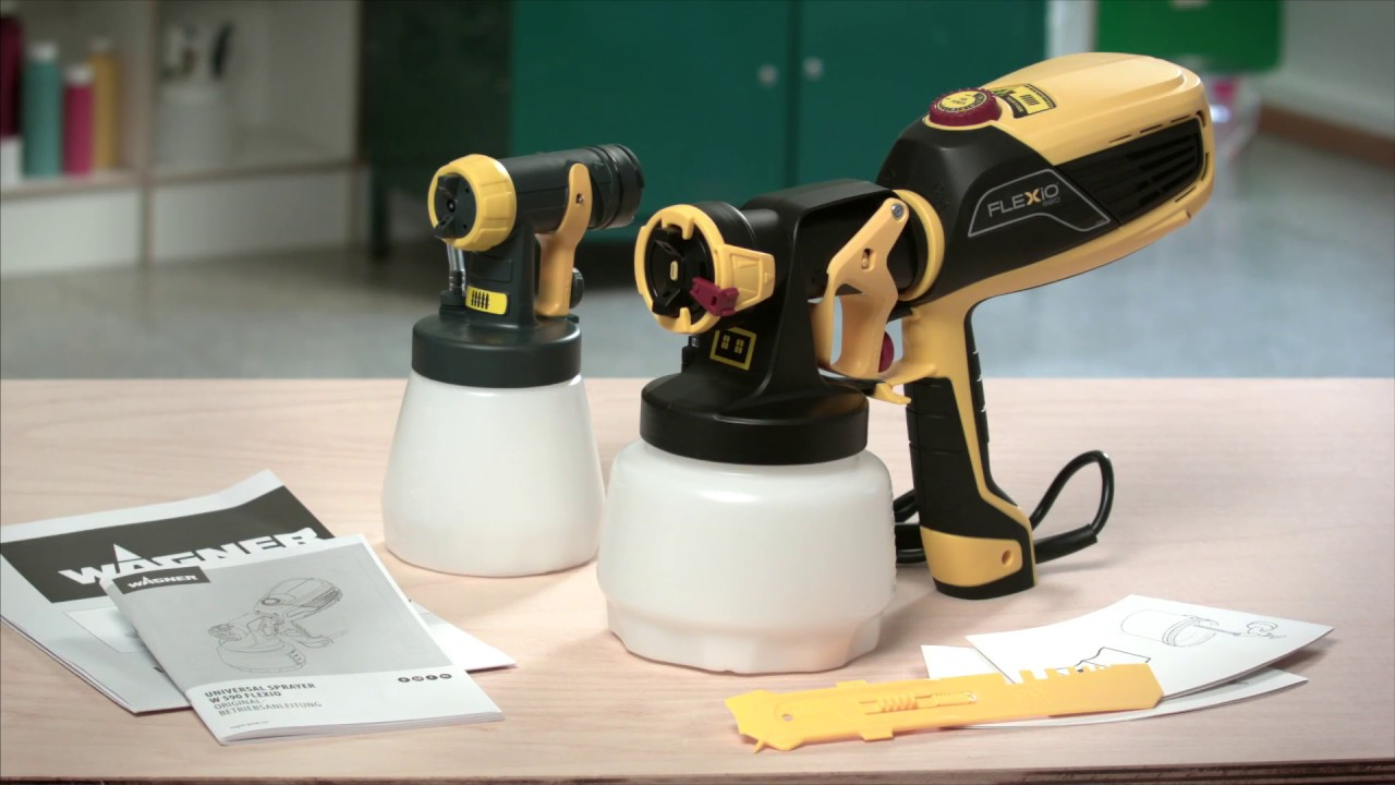 Electric Paint for Wall /&... Wagner Universal Sprayer W 590 FLEXiO
