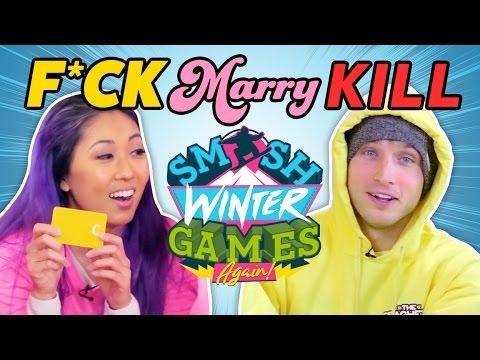 COMPETITIVE F*CK MARRY KILL (Smosh Winter Games)