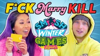 COMPETITIVE F*CK MARRY KILL (Smosh Winter Games) thumbnail