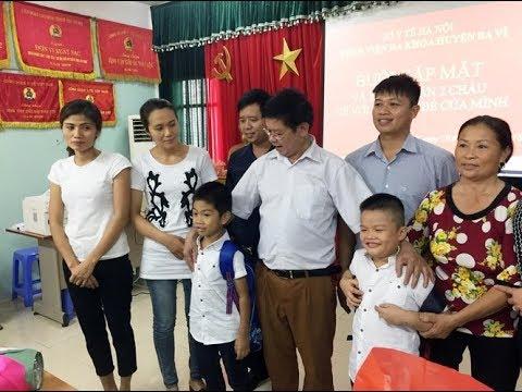 Vụ trao nhầm con ở Ba Vì: Hai gia đình chính thức nhận lại con ruột tại BVĐK Ba Vì