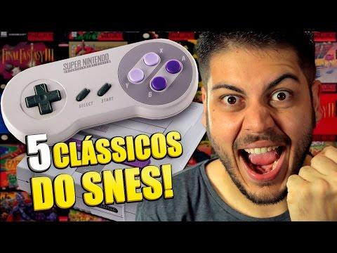 Os 5 jogos mais clássicos do Super Nintendo!