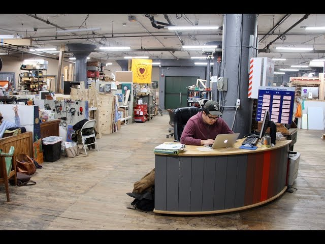 Take a tour of Worcester's Technocopia makerspace