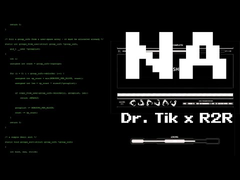 Dr. Tik x R2R - NA [Clip Officiel] 4K