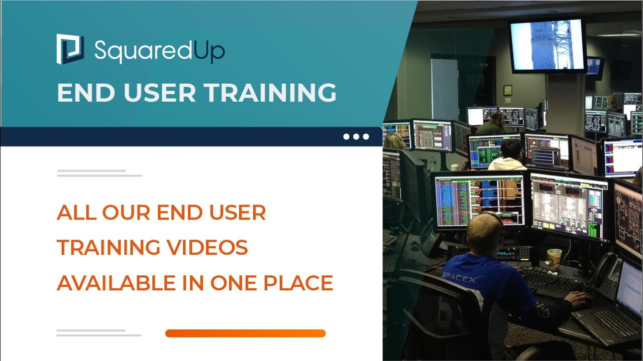 All end user training videos
