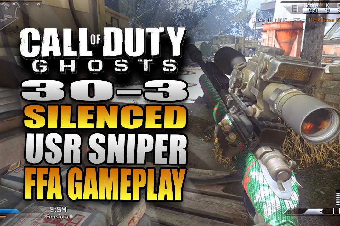 Call of Duty: Ghosts Quickscoping Multiplayer Gameplay on ...