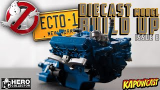 GHOSTBUSTERS ECTO-1 DIECAST BUILD | EAGLEMOSS KIT 8