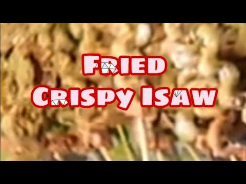 """How to cook """"isaw""""/ fried chicken intestine."""
