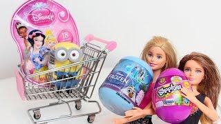 Barbie e Skiper Surprise Eggs Ovos Surpresas com BIA LOBO