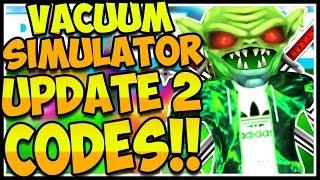 🚨ALL SECRET HAT CODES VACUUM SIMULATOR🔥[HATS!🎩] Vacuum Simulator!✨Roblox🚨