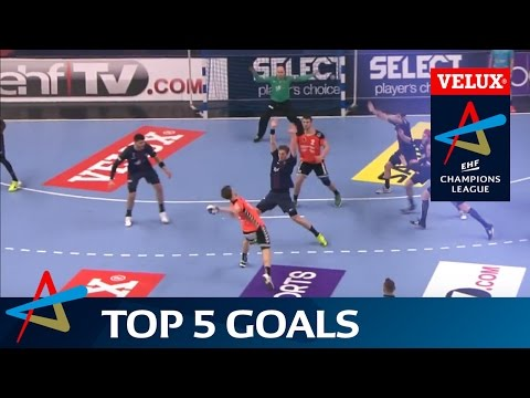 Csaszar & Schmid's pure handball power in Top 5 Goals | Round 12 | VELUX EHF Champions League