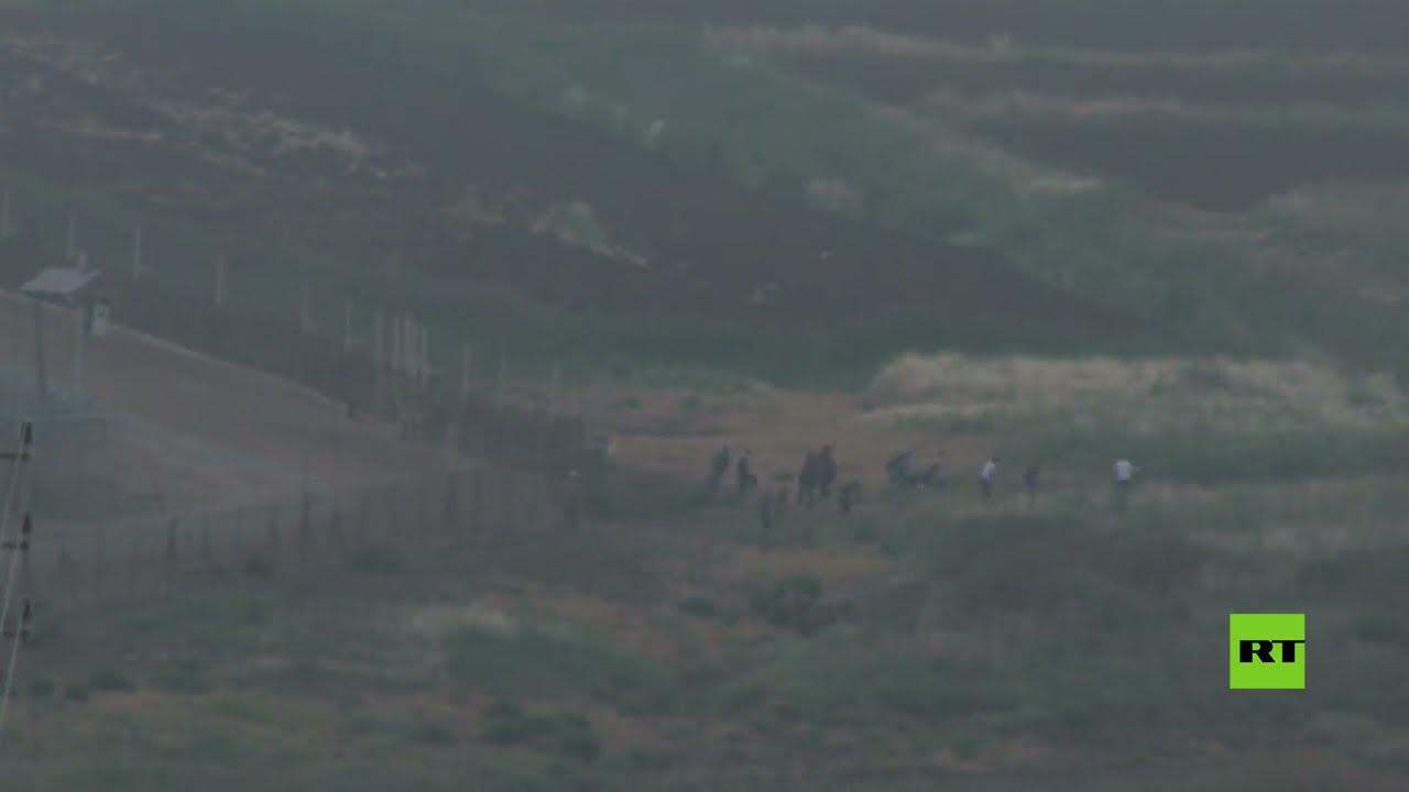 شاهد.. محاولة عبور الحدود إلى داخل إسرائيل  - نشر قبل 36 دقيقة