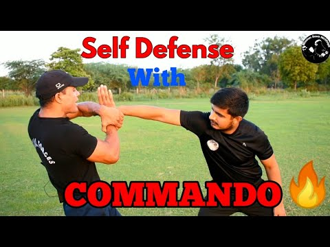 Self Defence With Commando || Commando Fitness Club