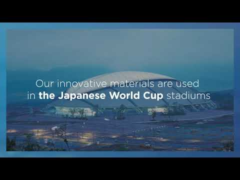 Saint-Gobain Group materials used on Rugby World Cup stadiums in Japan : video